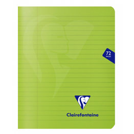 Clairefontaine Clairefontaine #330363 Mimesys Lined with Margin Staplebound Notebook 6.5 x 8.25 (Assorted)
