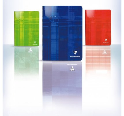 Clairefontaine Clairefontaine #3606 Classic Ruled Staplebound Notebook 4.25 x 6.75 (Assorted)