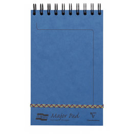Clairefontaine Clairefontaine #4615Z Europa Major Lined Blue Notepad 5 x 8.125