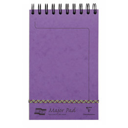 Clairefontaine Clairefontaine #4616Z Europa Major Lined Violet Notepad 5 x 8.125