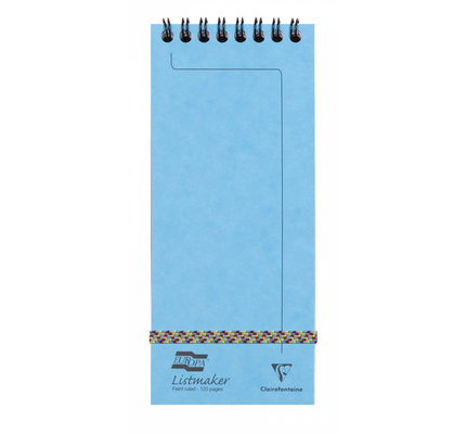 Clairefontaine Clairefontaine #482/1115Z Europa Listmaker Lined Turquoise Notepad 3 x 7