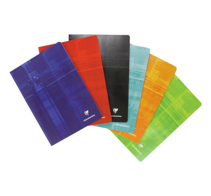 Clairefontaine Clairefontaine #63125 Classic Ruled with Margin Staplebound Notebook 8.25 x 11.75 (Assorted)