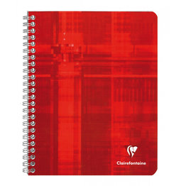 Clairefontaine Clairefontaine #883 Classic Ruled with Margin Wirebound Notebook 6.5 8.25