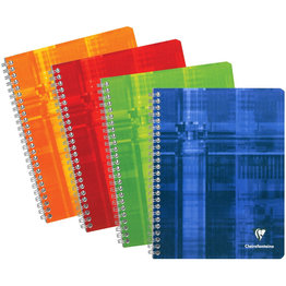 Clairefontaine Clairefontaine #8731 Classic French Ruled Wirebound Notebook 6.75 x 8.75 (Assorted)