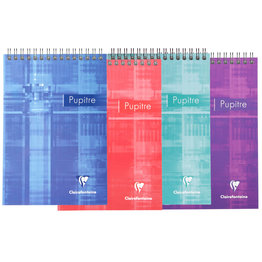 Clairefontaine Clairefontaine #8666 Classic Ruled Top Wirebound Notebook 5.75 x 8.25 (Assorted)