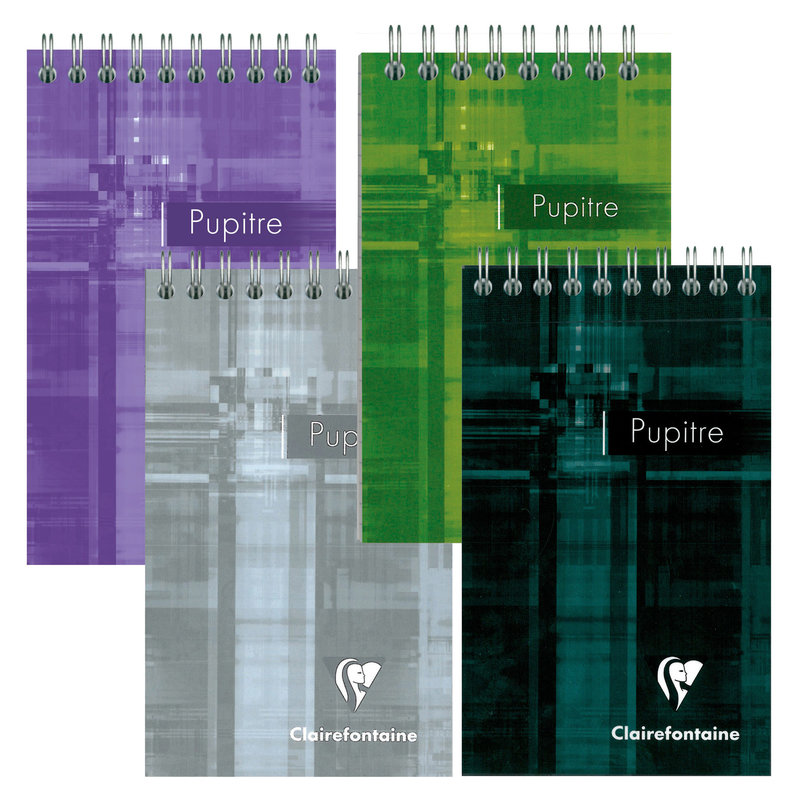 Clairefontaine Clairefontaine #8662 Classic Graph Top Wirebound Notepad 5.75 x 8.25 (Assorted)