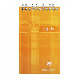 Clairefontaine Clairefontaine #8642 Classic Graph Top Wirebbound Notepad 4.25 x 6.75 (Assorted)