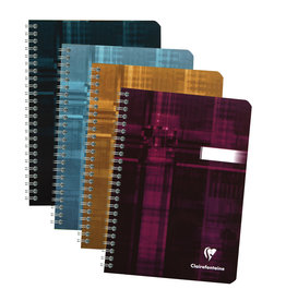 Clairefontaine Clairefontaine #8546 Classic Ruled Wirebound Notebook 6 x 8.25 90 Sheets (Assorted)
