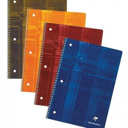 Clairefontaine Clairefontaine #8267 Classic 3-Hole Punched Ruled with Margin Wirebound Notebook 8.5 x 11 (Assorted)