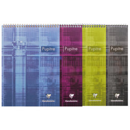 Clairefontaine Clairefontaine #8152 Classic Graph Top Wirebound Notepad 8.5 x 11.75 (Assorted)
