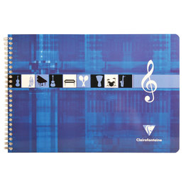 Clairefontaine Clairefontaine #8104 Music Notebook Landscape 11.75 x 8.25