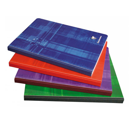 Clairefontaine Clairefontaine #69145 Classic Ruled with Margin Clothbound Notebook 8.25 x 11.75 (Assorted)