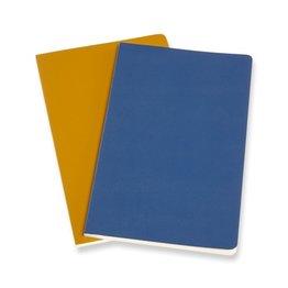 Moleskine Moleskine Volant Journals X-Small Forget Me Not Blue/Amber Yellow Plain