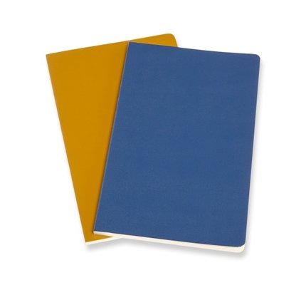 Moleskine Moleskine Volant Journals X-Small Forget Me Not Blue/Amber Yellow Plain