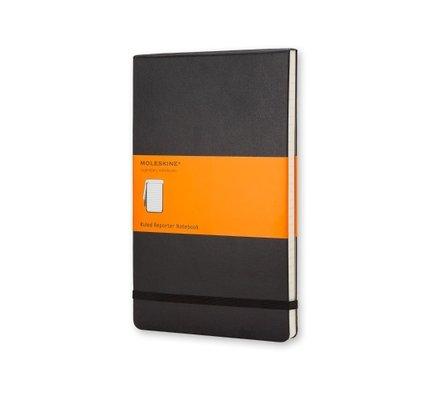Moleskine Moleskine Reporter Notebook Pocket Softcover Black Ruled