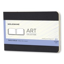 Moleskine Moleskine Large Art Plus Cahier Sketch Album Black Landscape