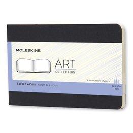 Moleskine Moleskine Large Art Plus Cahier Sketch Album Black Landscape