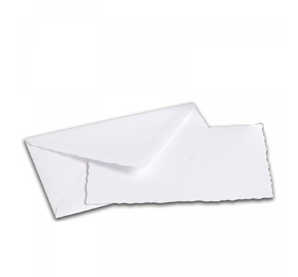 G. Lalo Mode de Paris Box Card & Envelope Extra White