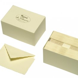 G. Lalo Mode de Paris Box Card & Envelope Ivory