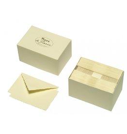 G. Lalo Mode de Paris Box Card & Envelope Ivory