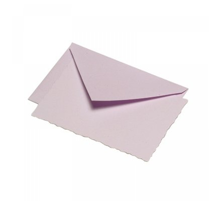 G. Lalo Mode de Paris Box Card & Envelope Lavender