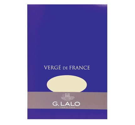 G. Lalo Stationery Tablet 5.75x8.25 Ivory