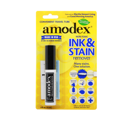 Amodex Ink and Stain Remover .5-oz Blister Traveler