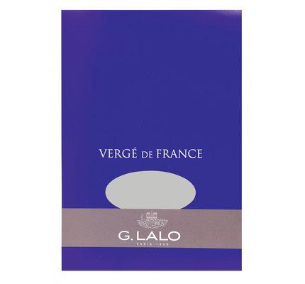 G. Lalo Stationery Tablet 5.75 x 8.25 Dark Grey
