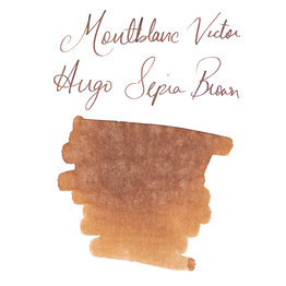 Montblanc Montblanc Limited Edition Writer's Series Victor Hugo Sepia Brown Bottled Ink -  50ml