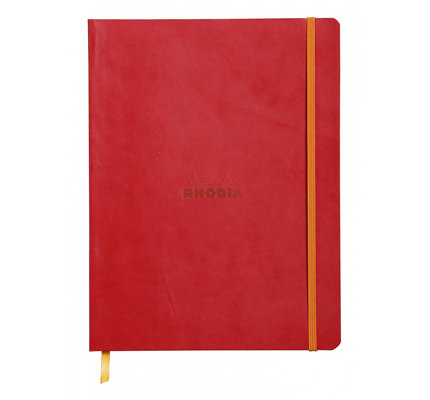 Rhodia Rhodia Rhodiarama Softcover Notebook (Composition) Poppy Lined