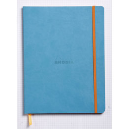Rhodia Rhodia Rhodiarama Softcover Notebook (Composition) Turquoise Dotted