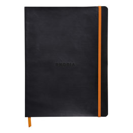 Rhodia Rhodia Rhodiarama Softcover Notebook (Composition) Black Lined