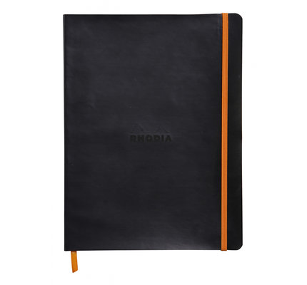 Rhodia Rhodia Rhodiarama Softcover Notebook (Composition) Black Dotted