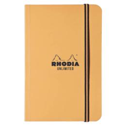 Rhodia Rhodia Unlimited Notebook Orange Lined (3.5 x 5.5)