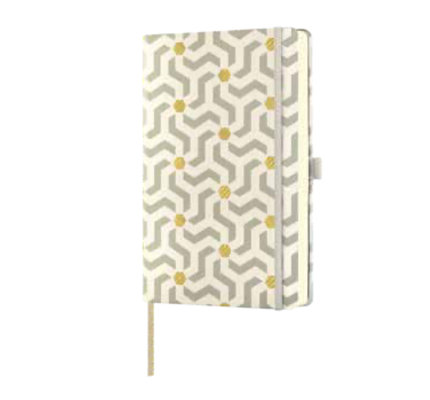 Castelli Castelli A5 Notebook Oro Snakes Ruled
