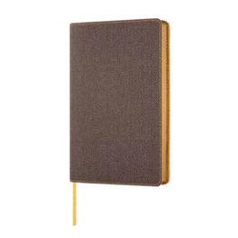 Castelli Castelli A5 Notebook Harris Tobacco Brown Ruled