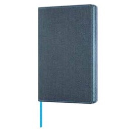 Castelli Castelli A5 Notebook Harris Slate Blue Ruled