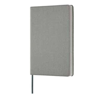 Castelli Castelli A5 Notebook Harris Oyster Grey Ruled