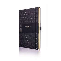 Castelli Castelli A5 Notebook Copper And Gold Honey Gold Ruled