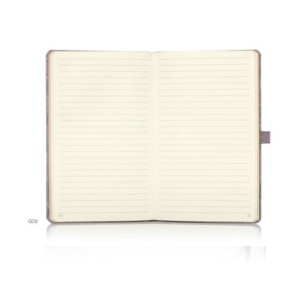 Castelli Castelli A5 Notebook Copper And Gold Weaving Gold Ruled
