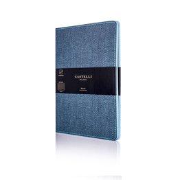 Castelli Castelli A5 Notebook Harris Slate Blue Blank