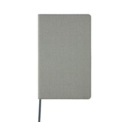 Castelli Castelli A5 Notebook Harris Oyster Grey Blank