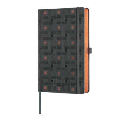 Castelli Castelli A5 Notebook Copper And Gold Weaving Copper Ruled