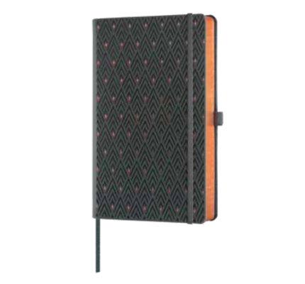 Castelli Castelli A5 Notebook Copper And Gold Diamonds Gold Blank