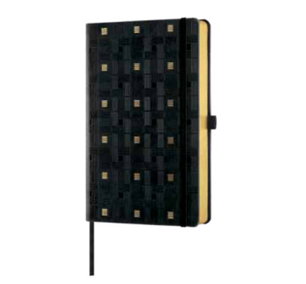 Castelli Castelli A5 Notebook Copper And Gold Weaving Gold Blank