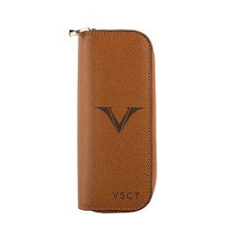 Visconti Visconti VSCT Collection 4 Pen Case Cognac