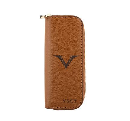 Visconti Visconti VSCT Collection 4 Pen Holder Cognac