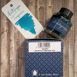 Montegrappa Montegrappa Turquoise Bottled Ink - 50ml