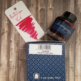 Montegrappa Montegrappa Red Bottled Ink - 50ml