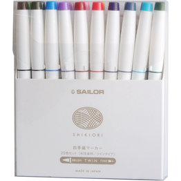 Sailor Sailor Compass Shikiori 20 Piece Marker Set